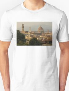 Hot Summer Afternoon in Florence, Italy Unisex T-Shirt