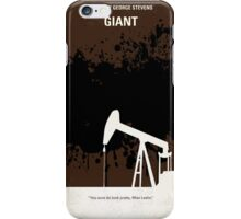 No102 My GIANT minimal movie poster iPhone Case/Skin