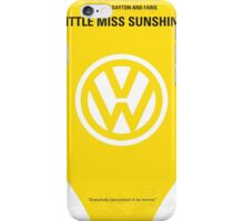 No103 My Little Miss Sunshine movie poster iPhone Case/Skin