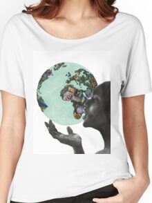 Gaia Women's Relaxed Fit T-Shirt