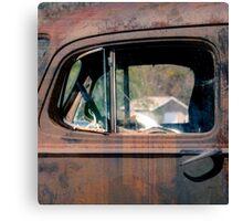 Window in Rural America  Canvas Print