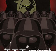 Revenge of the Sith 01 Minimalist Poster by LoweakGraph