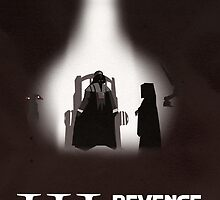 Revenge of the Sith 02 Minimalist Poster by LoweakGraph