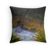 Pancake Rock Throw Pillow