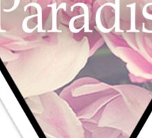 Paradise Flowers Sticker