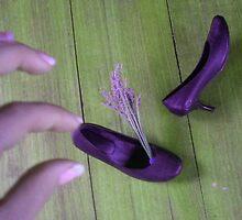Lavender Shoes by visualmetaphor