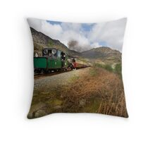 Blaenau Ffestiniog railway - Wales Throw Pillow