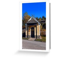 Chapel along the road 2 | architectural photography Greeting Card