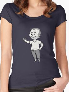 standalone Trevor mascot Women's Fitted Scoop T-Shirt