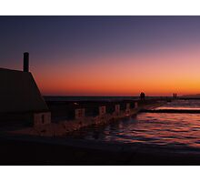 NEWCASTLE NSW OCEAN BATHS Photographic Print