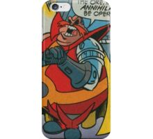 Doctor Comic Robotnik iPhone Case/Skin