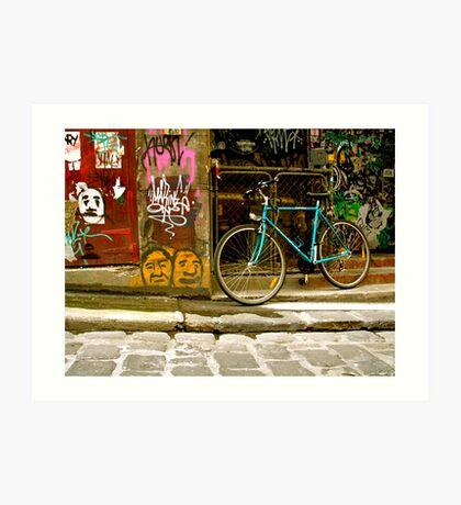 Melbourne Graffiti - Hosier Lane Art Print