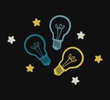 Lightbulb Idea Pattern Kids Clothes