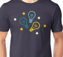 Lightbulb Idea Pattern Unisex T-Shirt