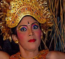 Balinese Dancer 3 by Werner Padarin