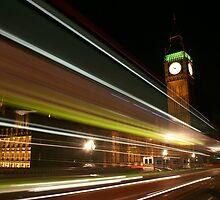 London @ Night by Kiwikiwi