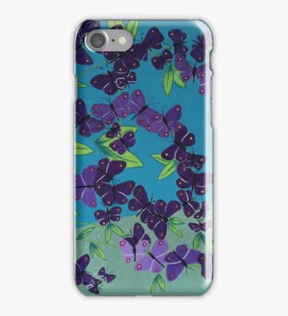 The Butterfly Bush iPhone Case/Skin