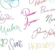 Royal Autographs Sticker
