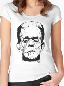 Frankenstein's Monster Women's Fitted Scoop T-Shirt
