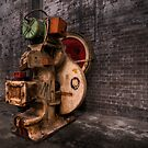 Machinery - Cockatoo Island Sydney Harbour by Jeff Catford