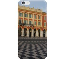 Nice, France, French Riviera - the Cheerful Colors of Place Massena  iPhone Case/Skin