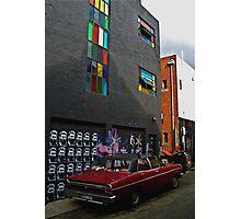 Melbourne Graffiti - Fitzroy Photographic Print
