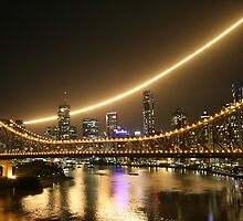 Brisbane Australia: River Fire 2008  by Claude Raiola