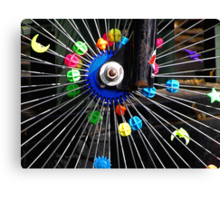 Bike wheel Canvas Print
