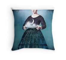 Frau Holle Throw Pillow