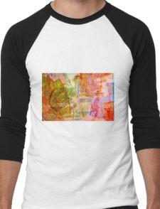 2015 January 4 Men's Baseball ¾ T-Shirt