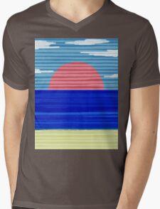 Paper Beach Mens V-Neck T-Shirt