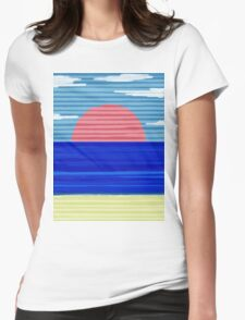 Paper Beach Womens Fitted T-Shirt