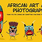 African art banner by Richard Laschon