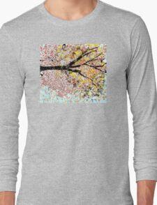 Beautiful Tree Sideways Long Sleeve T-Shirt