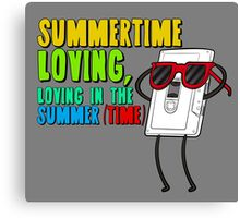 Regular Show - Summer Time Loving, Loving in the summer (Time) Canvas Print