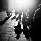 High Sun on Southbank by Aaron  Sheehan