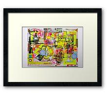 Art and Maths Framed Print