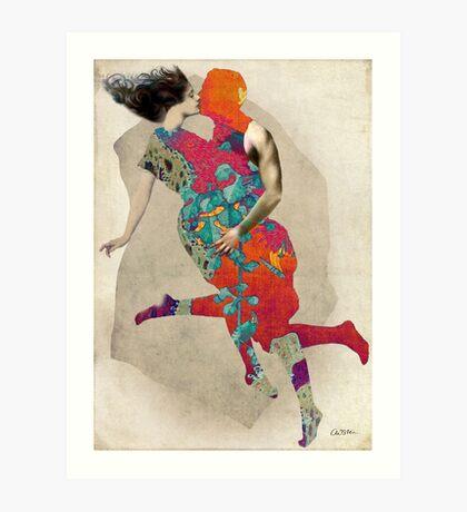 Love is a Tango Art Print