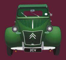 Citroen 2CV Green by MangaKid