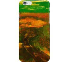 Towards Kilmore East VIC Australia (silk paint) iPhone Case/Skin