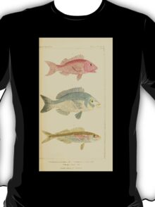 The Animal Kingdom by Georges Cuvier, PA Latreille, and Henry McMurtrie 1834  118 - Pisces Fish T-Shirt