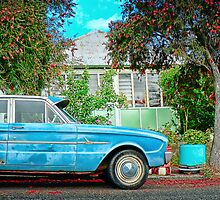 vintage ford falcon by closeddoor
