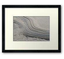 Tidal Drift Framed Print