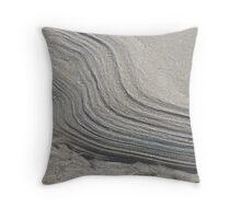 Tidal Drift Throw Pillow