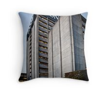 Brutalist architecture Throw Pillow