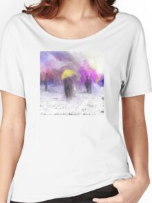The Yellow Umbrella Women's Relaxed Fit T-Shirt