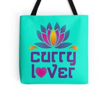 Thai Asian Cuisine Chef Curry Lover Lotus Flower Tote Bag
