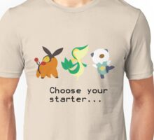 5th Gen Starters Unisex T-Shirt