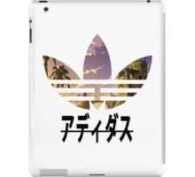 Adidas pixelated landscape iPad Case/Skin
