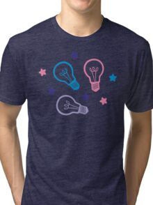 Cute Pastel Lightbulbs Tri-blend T-Shirt